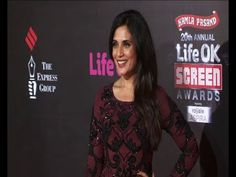 Richa Chadda | Red Carpet OF LIFE OK SCREEN AWARDS 2014.