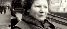 """Janet Frame: """"My clothing flapped and sucked at my bones like a tent pitched in the snow to shelter the dead explorers from the blizzard, as if the dead in their coldness need shelter from cold in the same way that man needs most to hide from the attribute which make him human."""""""