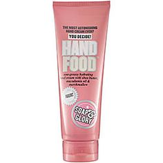 Soap and Glory Hand Food...great hand cream and smells soooo good