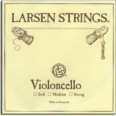 Larsen Soloist Cello D String Dolce by Larsen. $49.03. Larsen Soloist Cello D String Bright sound nicely compliments gut and tungsten-wound synthetic strings. This in combination with the Larsen Soloist Edition D string are the most popular cello strings we sell! Alloy wound on steel core.
