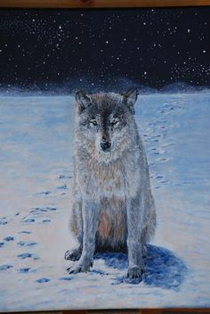 "Detail ""Wild Solitude"" by artist  Darcy Gerdes"