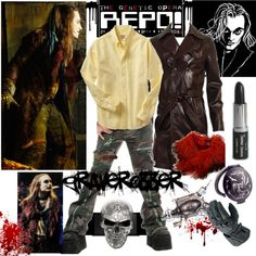 """Effigia Additum - REPO! The Genetic Opera - Graverobber"" by lylias-dandies on Polyvore"