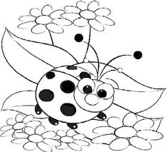 Ladybug Coloring Pages. Coloring Page Ladybug And Daisy Stock Vector Pages Compact Washer Dryer Washing Machine Won Agitate Drain Sims Laundry Rug Bike Front Load Miele Portable Kenmore Model Unbalanced Cora Free Adult Coloring Pages, Cute Coloring Pages, Free Coloring, Coloring Books, Ladybug Coloring Page, Baby Ladybug, Peel And Stick Vinyl, Cute Monsters, Happy Colors