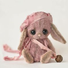 Мишки Тедди ручной работы. Ярмарка Мастеров - ручная работа. Купить Зайка Лизи. Handmade.