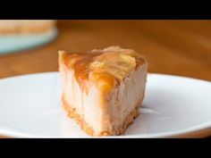Caramelized Banana Peanut Butter Cheesecake - YouTube