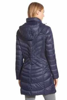 Alternate Image 2 - Bernardo Hooded Down & PrimaLoft® Fill Coat (Regular & Petite)