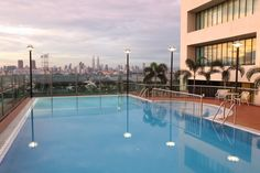 Swimming Pool - overlooking to city view