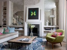 Living Room Designs: Friendly Additions - Home and Garden Design Ideas