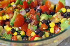 Corn & Black Bean Salsa.... I like this one better!