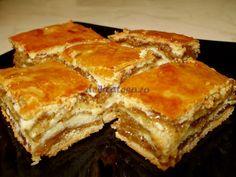 Prăjitură cu miere şi nucă
