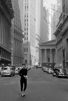 Audrey Hepburn, NYC, 1951