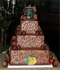#Baylor Cake - Waco
