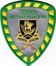 U. S.  ARMY   709th MILITARY  POLICE  BATTALION  Patch