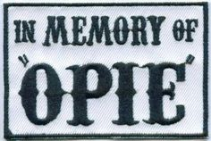 The Opie patch ♡♥