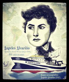 A Lagarada: Ángeles Alvariño 100 aniversario.