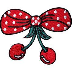 Cherry Embroidered Iron Sew On Patch Red Cherries Rockabi... https://www.amazon.co.uk/dp/B01N5UZB3Q/ref=cm_sw_r_pi_dp_U_x_A3kGAbY6K56Q1