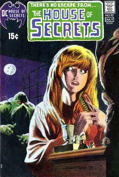 House of Secrets #92 - origin & 1st Swamp Thing · House of Secrets v1 #92, 1971 dc bronze age comic ...