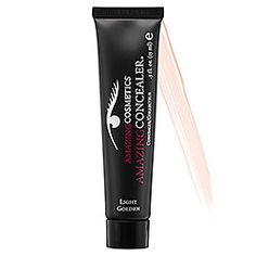 Amazing Cosmetics - Amazing Concealer- industry best, hands down and a tiny bit goes a long way.  moisturize first and it will NOT crease!  The colors are tricky, try it out in store.  If ordering online the colors run lighter than the names suggest.
