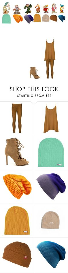 """""""sleepy,happy,dopey,sneezy,doc,grumpy,bashful"""" by loden-pp on Polyvore featuring Getting Back To Square One, WearAll, Neff, Topshop, Disney, Religion Clothing, Helly Hansen, Brixton and disney"""