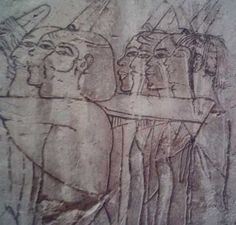 Sketches at the Private Tomb of Ramose- Egypt