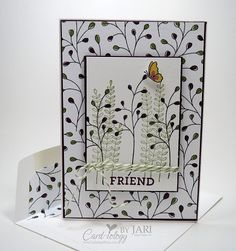 Stampin\' Up! Flowering Fields Sale-a-Bration Note Cards - Card-iology By Jari