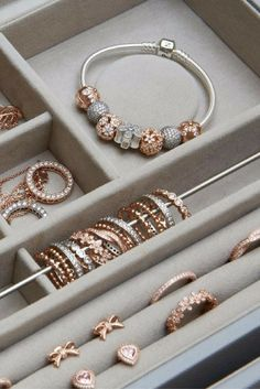 Fill your jewelry box with warmth and color. #PANDORATexas #PANDORARose…