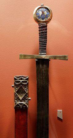 Espada de San Jorge. Primera mitad del siglo XIV. Colonia, Museum Schnütgen.