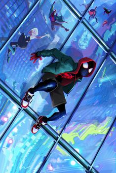 """""""One year since Miles Morales reminded us that anyone can wear the mask. Miles Spiderman, Miles Morales Spiderman, Spiderman Spider, Amazing Spiderman, Man Wallpaper, Marvel Wallpaper, Wallpaper Bonitos, Spiderman Pictures, Spider Verse"""