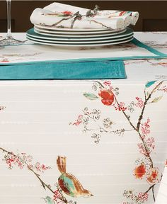 Lenox Chirp Collection - Table Linens - Dining & Entertaining - Macy's/ Still in love with after 3 years.