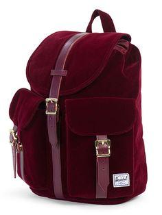 Herschel Supply Dawson Velvet Backpack | Winter Style