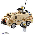 180pcs Military Armored Recovery Truck Car Building Blocks DIY Action Figure Toy