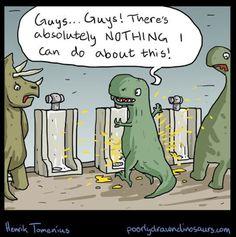 aha!! so, sean must be a T-rex then...