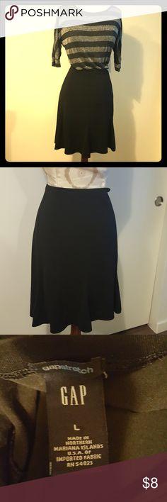 Gap black professional skirt Flowy, comfy black skirt. Shirt available in separate listing. GAP Skirts Midi