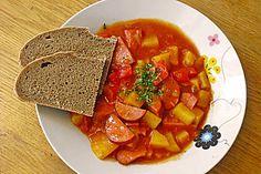 Ungarische Kartoffelsuppe
