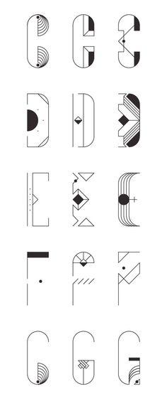 Typography  ZWEI  ZENITH by Jacopo Severitano via Behance