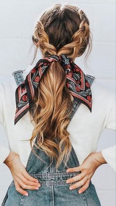 Hair Loss Shampoo, How To Wear Scarves, Hair Looks, Hair Lengths, Hair Trends, Hair Inspiration, Wedding Inspiration, Hair Inspo, Your Hair