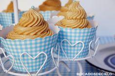 Bocadosdecielo: Cupcakes de almendra y caramelo