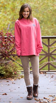 Cotton Club Pullover | Desert Rose | The Southern Shirt Company ...