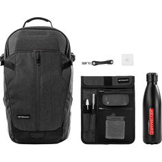 KeySmart Premium Commuter Backpack Smart Bundle w/Organizer, Key Holder, Tile & Nano Clip Commuter Bag, Leather Key Holder, Smart Key, Pocket Organizer, Pocket Notebook, Cyber Monday Deals, You Bag, Tile, Backpacks