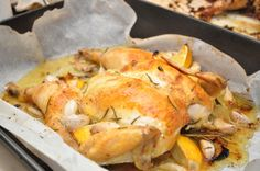 super quick & delicious weeknight roasted chicken