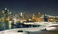 New York, Brooklyn Bridge.