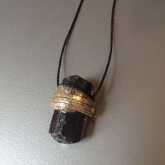 Vega. BLACK TOURMALINE NECKLACE. does not leave my body.