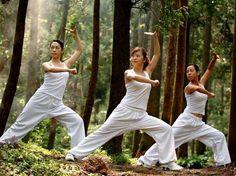 tai chi in the forest Qi Gong, Tai Chi Chuan, Tai Chi Qigong, Karate, Chinese Martial Arts, Martial Arts Women, Aikido, Pranayama, Pilates