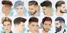 """Finding the latest cool hairstyles for men has never been easier. With dozens of cool new haircuts for guys popping up every year, short men's hairstyles remain as popular as ever. Following the """"short sides with long hair on top"""" hair trend, guys can achieve a variety of stylish and trendy men's haircuts, including the …"""