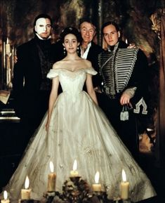 Gerard Butler, Patrick Wilson, Music Of The Night, Emmy Rossum, Movie Costumes, Halloween Costumes, Phantom Of The Opera, Movie Photo, Musical Theatre