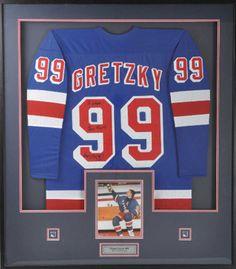 Jersey Frames - Wayne Gretzky