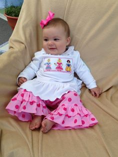 Can we say PRECIOUS!  we love our New Fall smocked princess 2pc set!