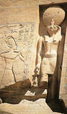 Abu Simbel  Detail  Egypt
