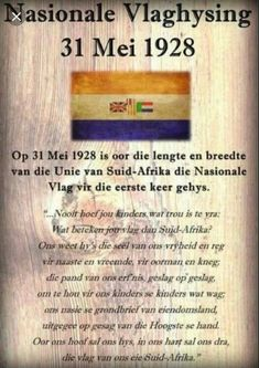 Union Of South Africa, South African Flag, South Afrika, Afrikaanse Quotes, Empowering Quotes, African History, Educational Activities, History Facts, Historical Photos