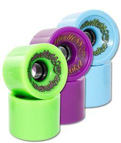 Longboard Cruiser, Green And Purple, Blue, Voodoo, Campaign, Wheels, Medium, Store, Check